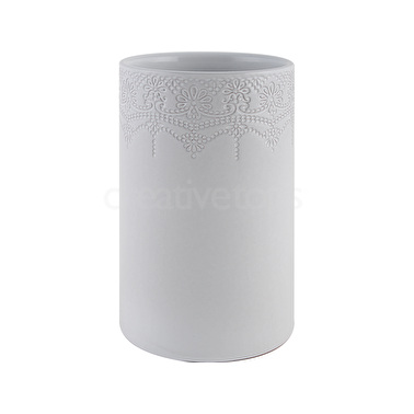 Katie Alice Lace Embossed Large Vase