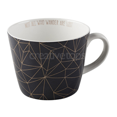 Creative Tops Star Geo Triangle Conical Mug