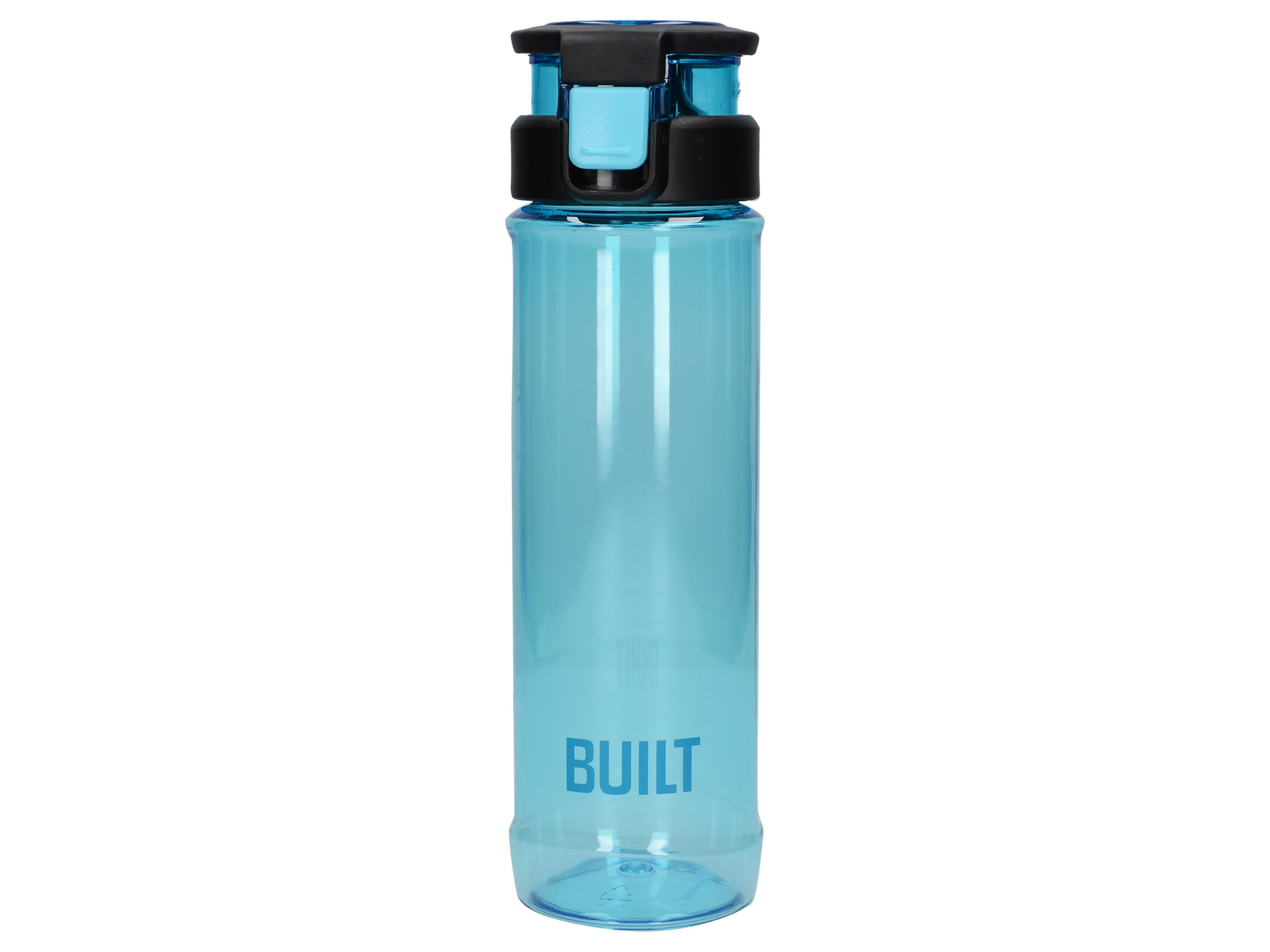 Built 24Oz Single Walled Tritan With Carry Handle Bottle Blue