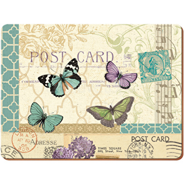 Creative Tops Postcard Pack Of 4 Large Premium Placemats