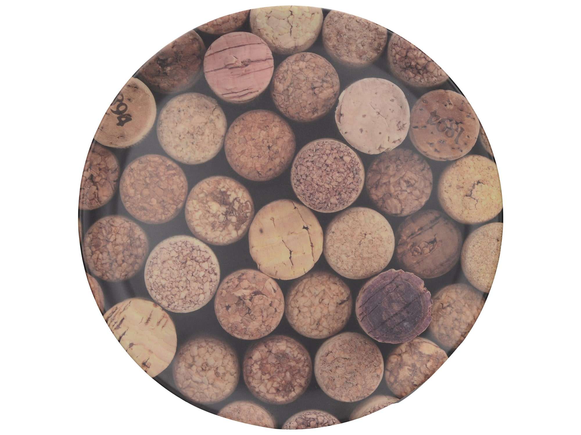 Creative Tops Cork Round Matte Tray