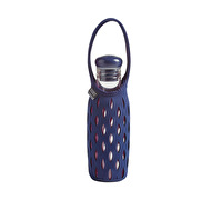 Built 17oz Bottle With Neoprene Tote Navy