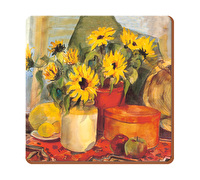 Creative Tops Sunflowers Pack Of 6 Premium Coasters