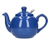 London Pottery Farmhouse 2 Cup Teapot French Blue
