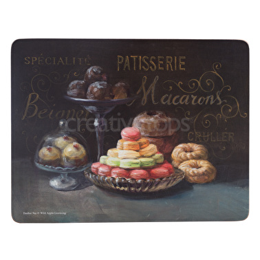 Creative Tops Patisserie Pack Of 6 Premium Placemats