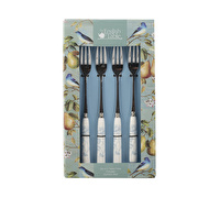 The English Table Spring Fruits Set Of 4 Pastry Forks