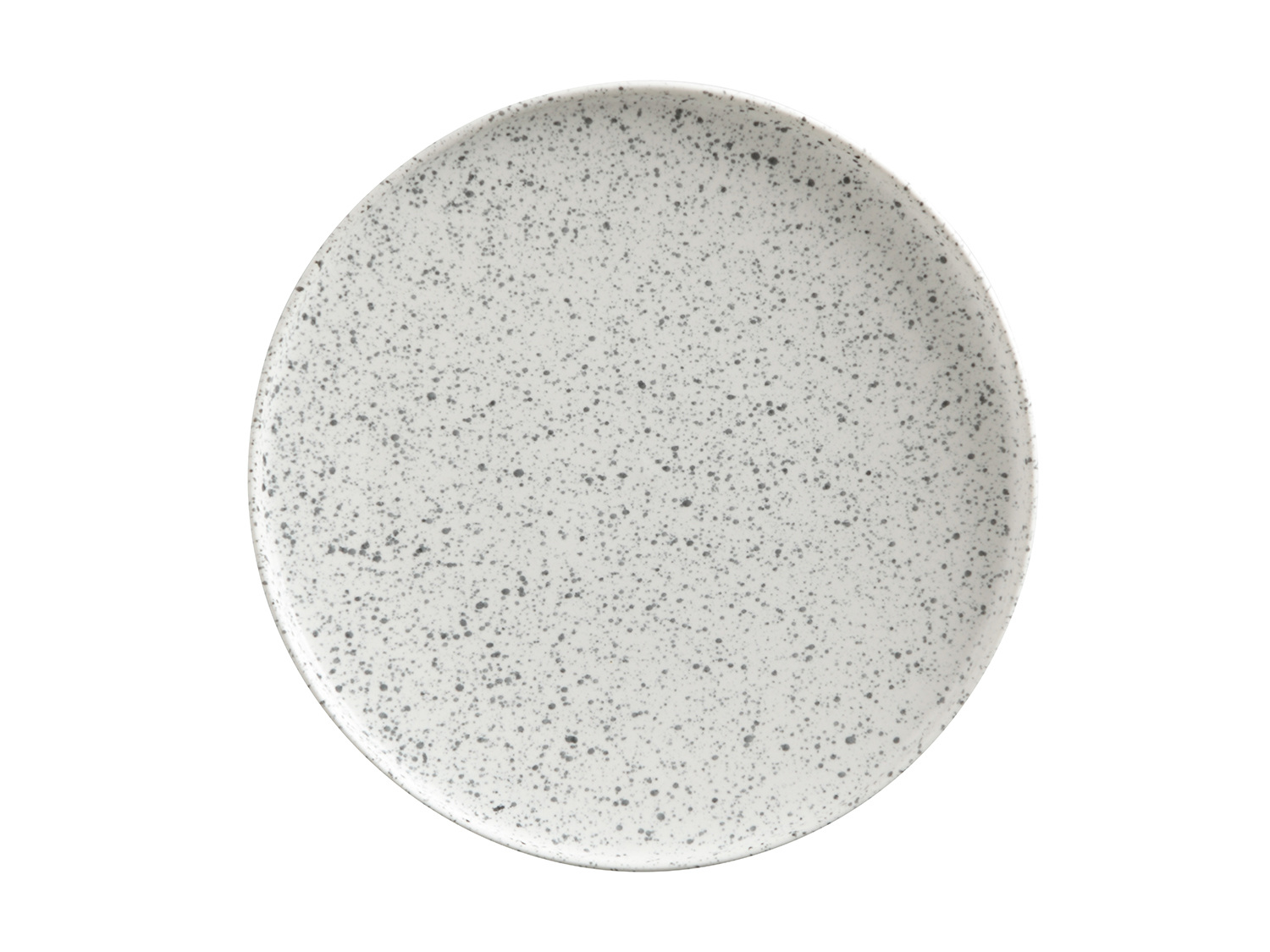 Maxwell & Williams Caviar Speckle 21Cm High Rim Plate