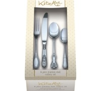 Katie Alice Stainless Steel 16 Piece Cutlery Set