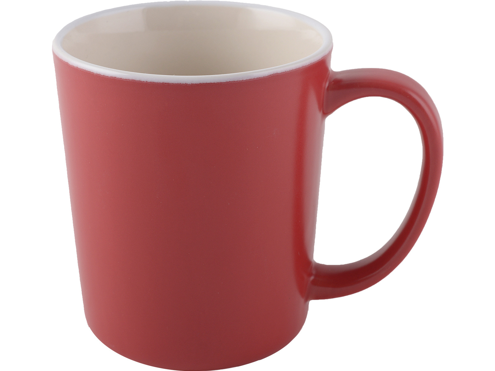 La Cafetiere Barcelona Latte Mug Matte Red