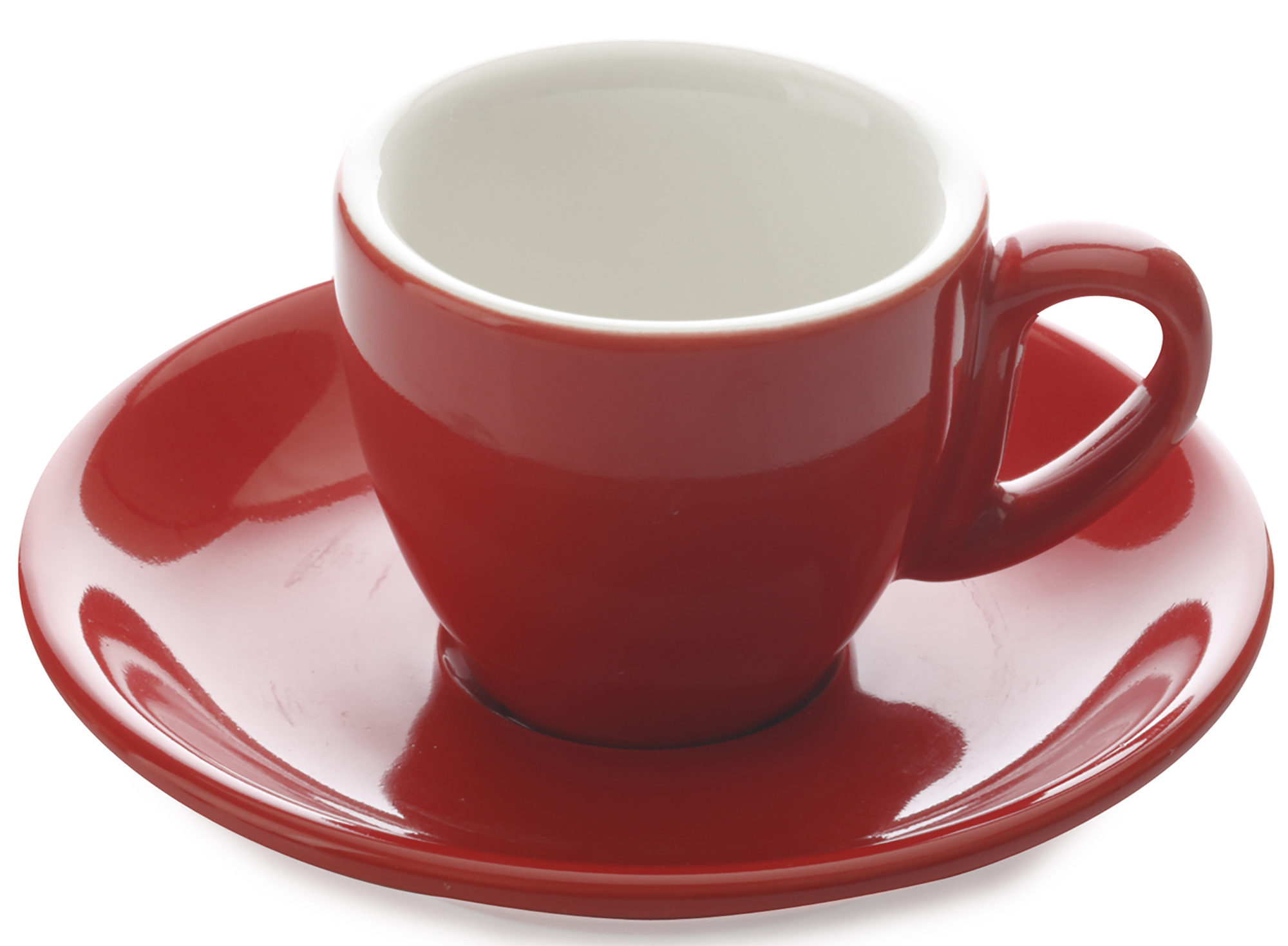 Maxwell & Williams Cafe Culture 70Ml Cup And Saucer Rosso