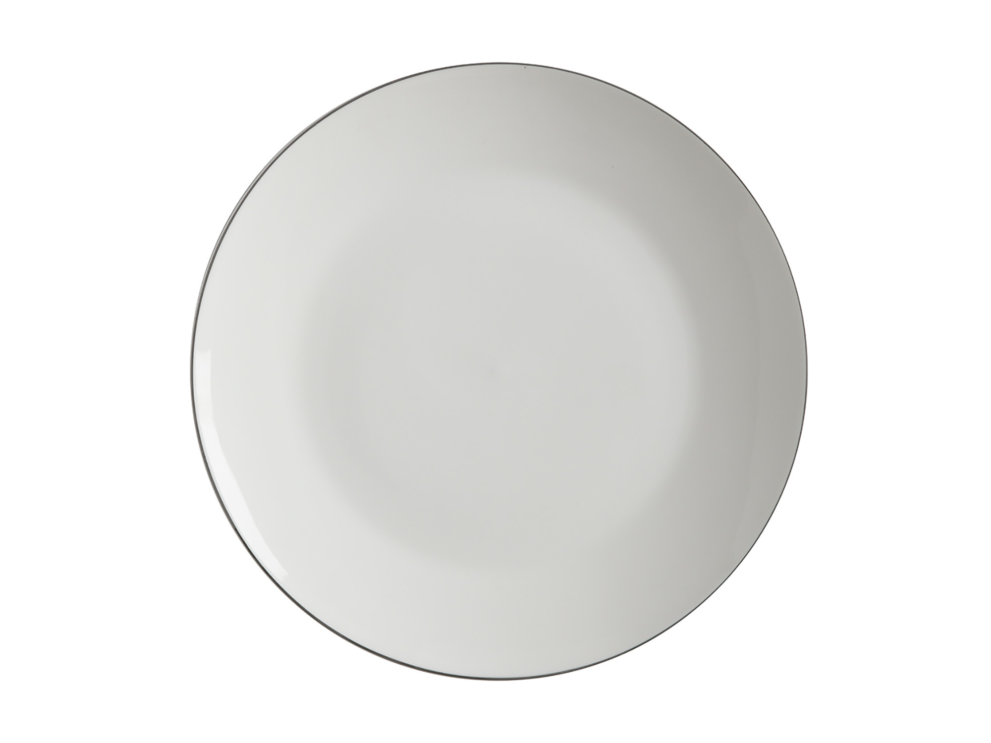 Maxwell & Williams White Basics Edge 23Cm Plate