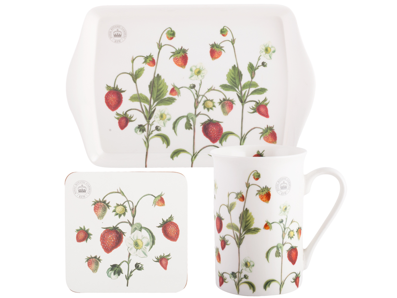 Kew Gardens Strawberry Fayre Time For Tea Gift Set