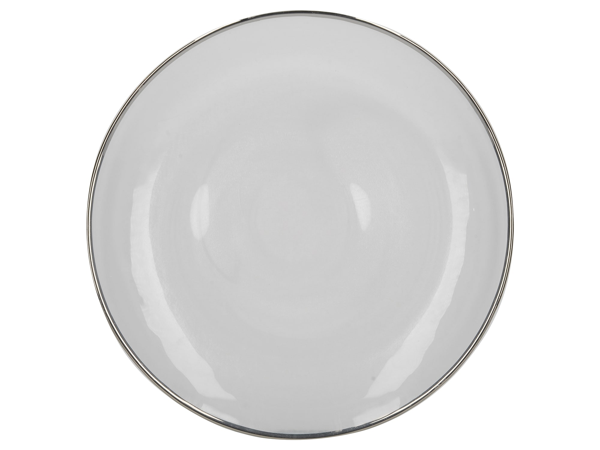 Mikasa Silver Rim Charger Plate