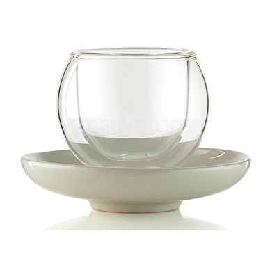 La Cafetiere Bola Large Cup And Saucer Without Handle