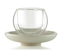La Cafetiere Bola Medium Cup And Saucer Without Handle