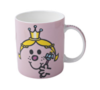 Mr Men Little Miss Princess Can Mug Pink