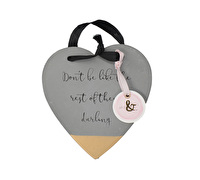 Creative Tops Ava & I Concrete Heart Hanging Sign