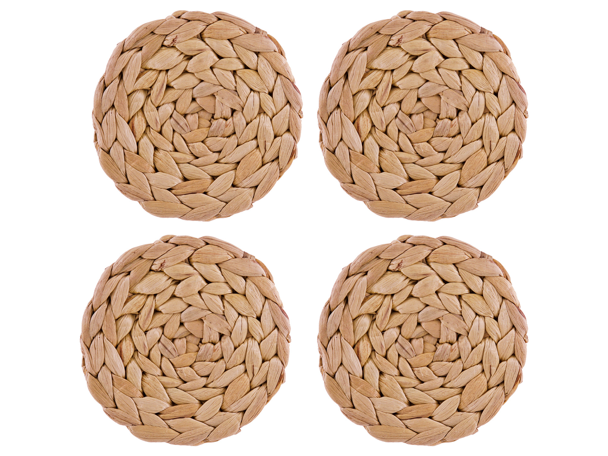 Creative Tops Water Hyacinth Pack Of 4 Round Coasters