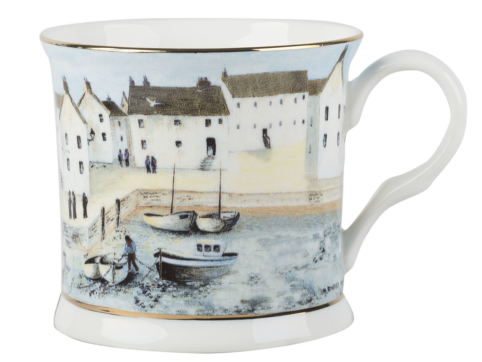 Creative Tops Cornish Harbour Palace Mug Blue