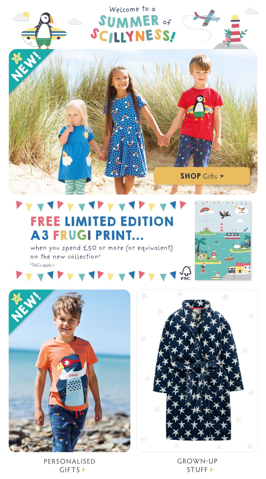 Welcome to a Summer of Scillyness! Shop Home & Gifts