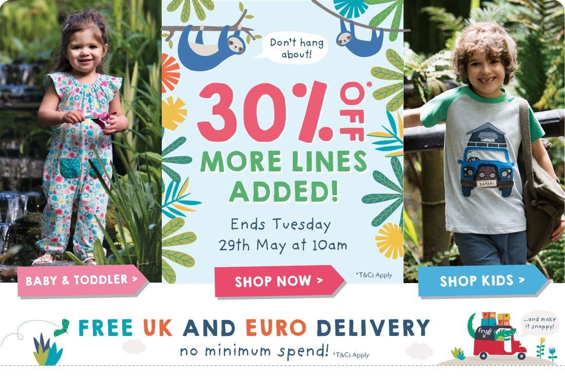 30% off selected lines