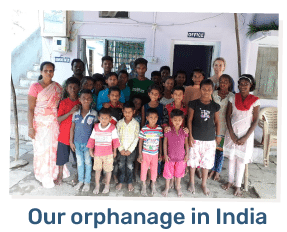 Our orphanage in India
