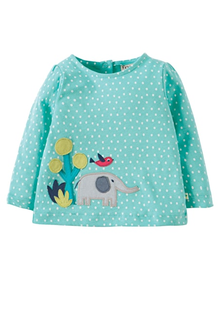 Frugi applique top