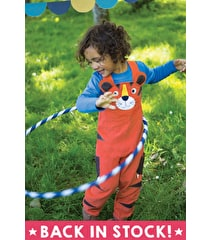 Wild Things Cord Dungaree