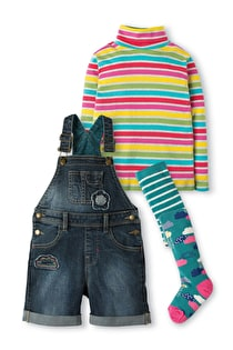 Daisy Dungaree Outfit Set