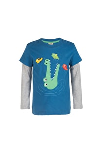 Snappy Applique Top