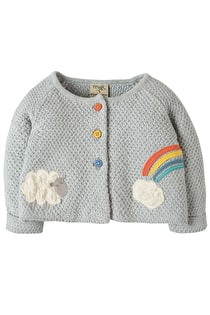 Cute As A Button Cardi