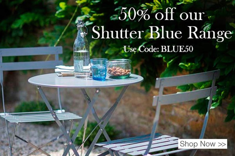 Shutter Blue Range offer