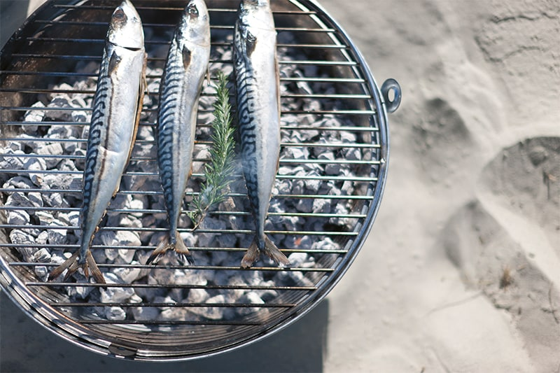FIsh on the barbeque