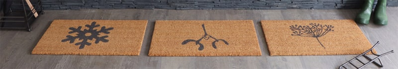 Doormats in a row