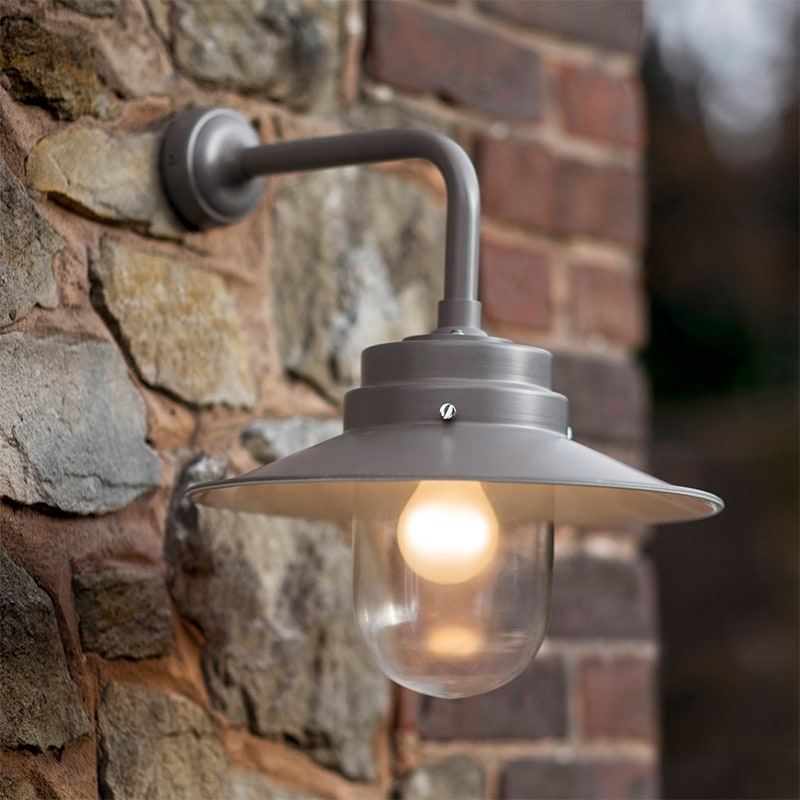 Outdoor Wall Light in Charcoal