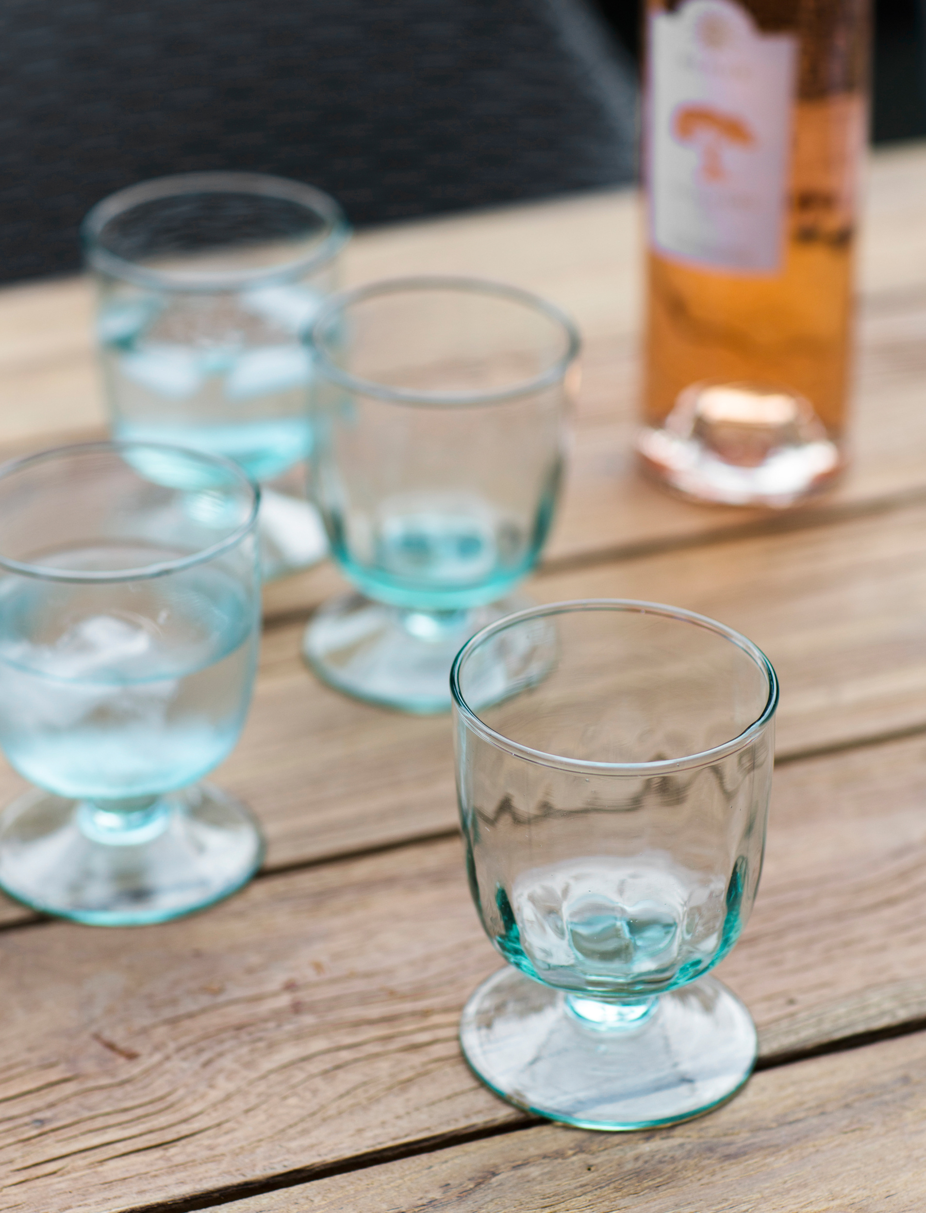 Recycled Glass Set of 4 Broadwell Wine Glasses | Garden Trading