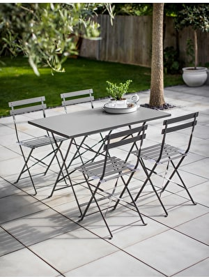 Rive Droite Rectangular Bistro Set