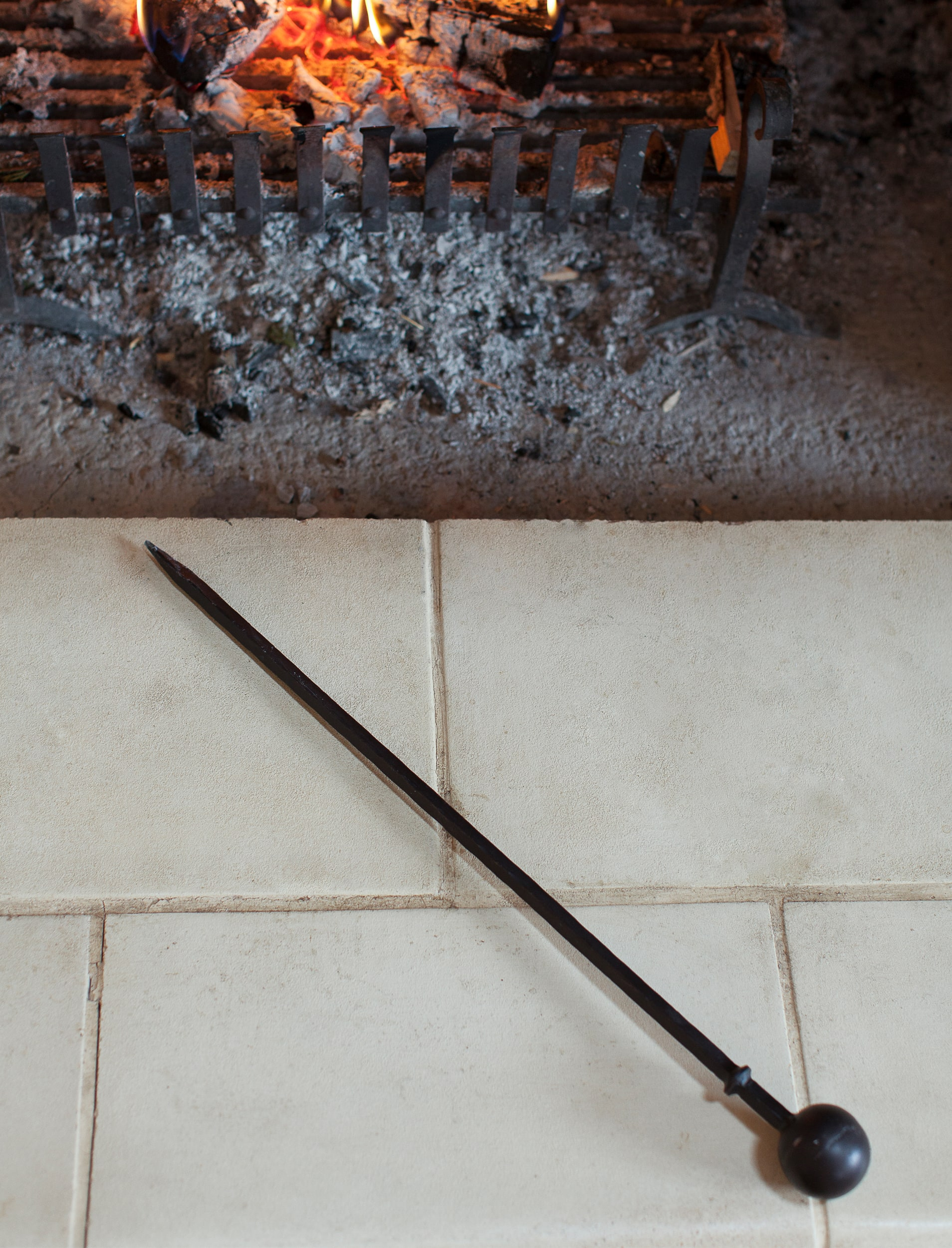 Wrought Iron Fire Poker  | Garden Trading