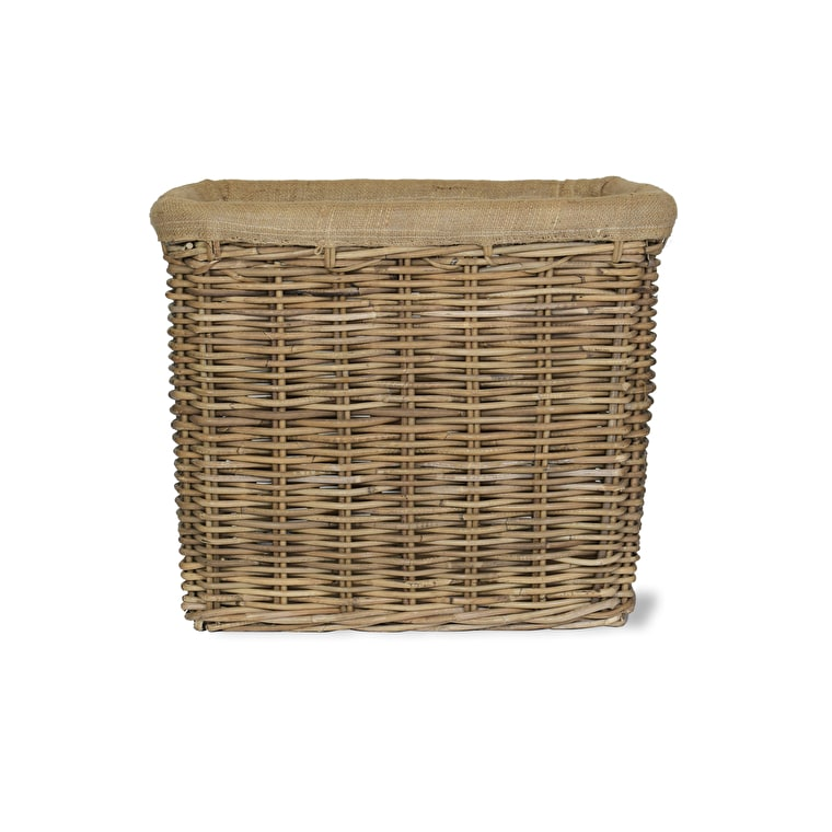 Rattan Bembridge Basket in Small or Large | Garden Trading
