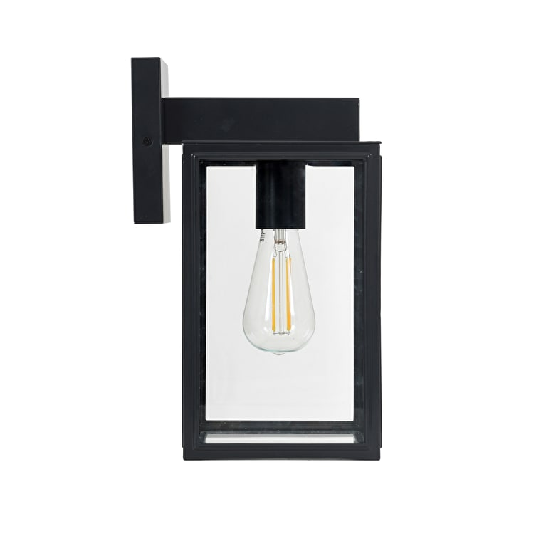 Belgrave Outdoor Carriage Wall Light in Black | Garden Trading