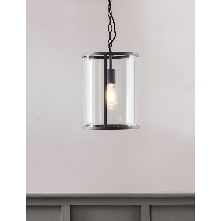 Cadogan Indoor Pendant Light in Black | Garden Trading