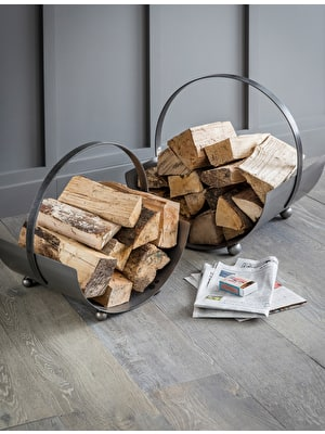 Lodge Round Log Carrier