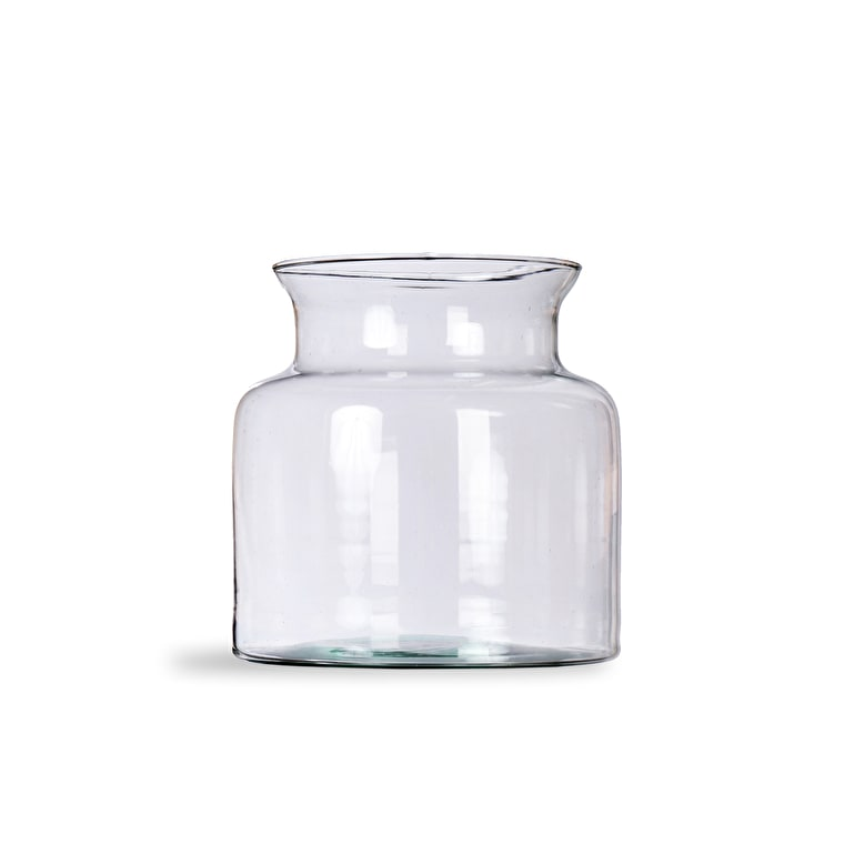 Recycled Glass Broadwell Vase in Small or Medium | Garden Trading
