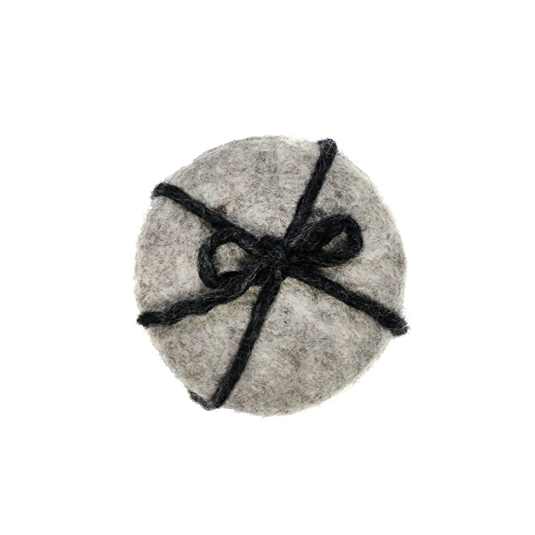 Fairtrade Felt Set of 4 Southwold Coasters  | Garden Trading