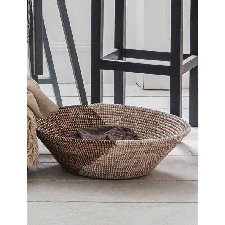 Recycled Woven Extra Large Brunswick Bowl | Garden Trading