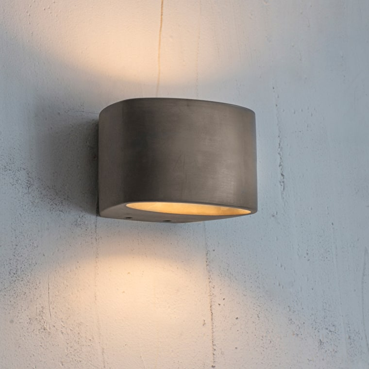 Concrete Lambeth LED Wall Light | Garden Trading