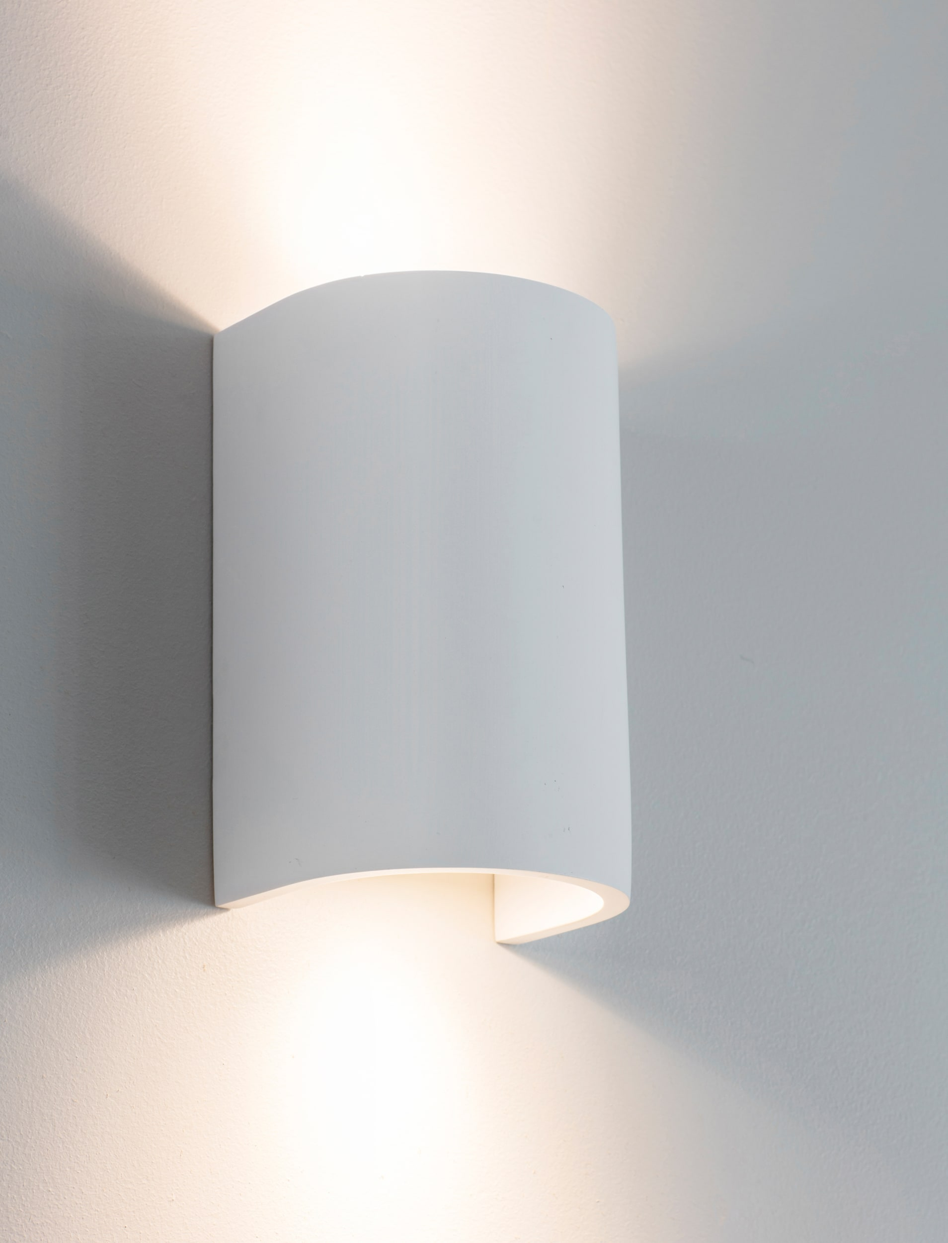 Plaster Stanton Double Wall Light  | Garden Trading