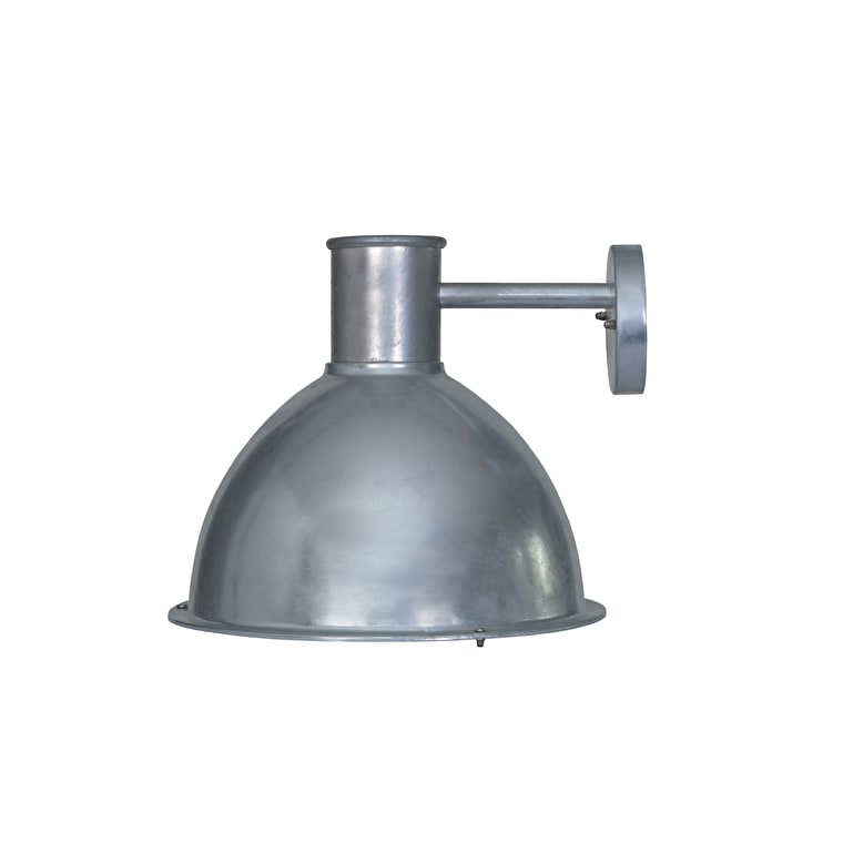Hot Dipped Galvanised Steel St Ives Bay Outdoor Wall Light  | Garden Trading