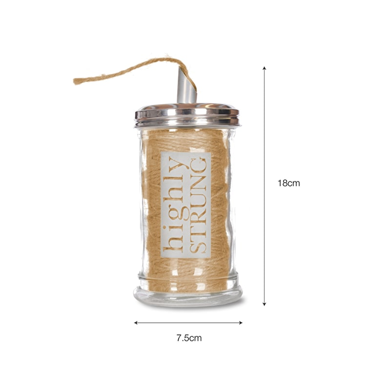 Highly Strung Glass Jar | Garden Trading
