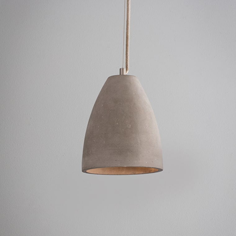 Concrete Millbank Indoor Pendant Light | Garden Trading